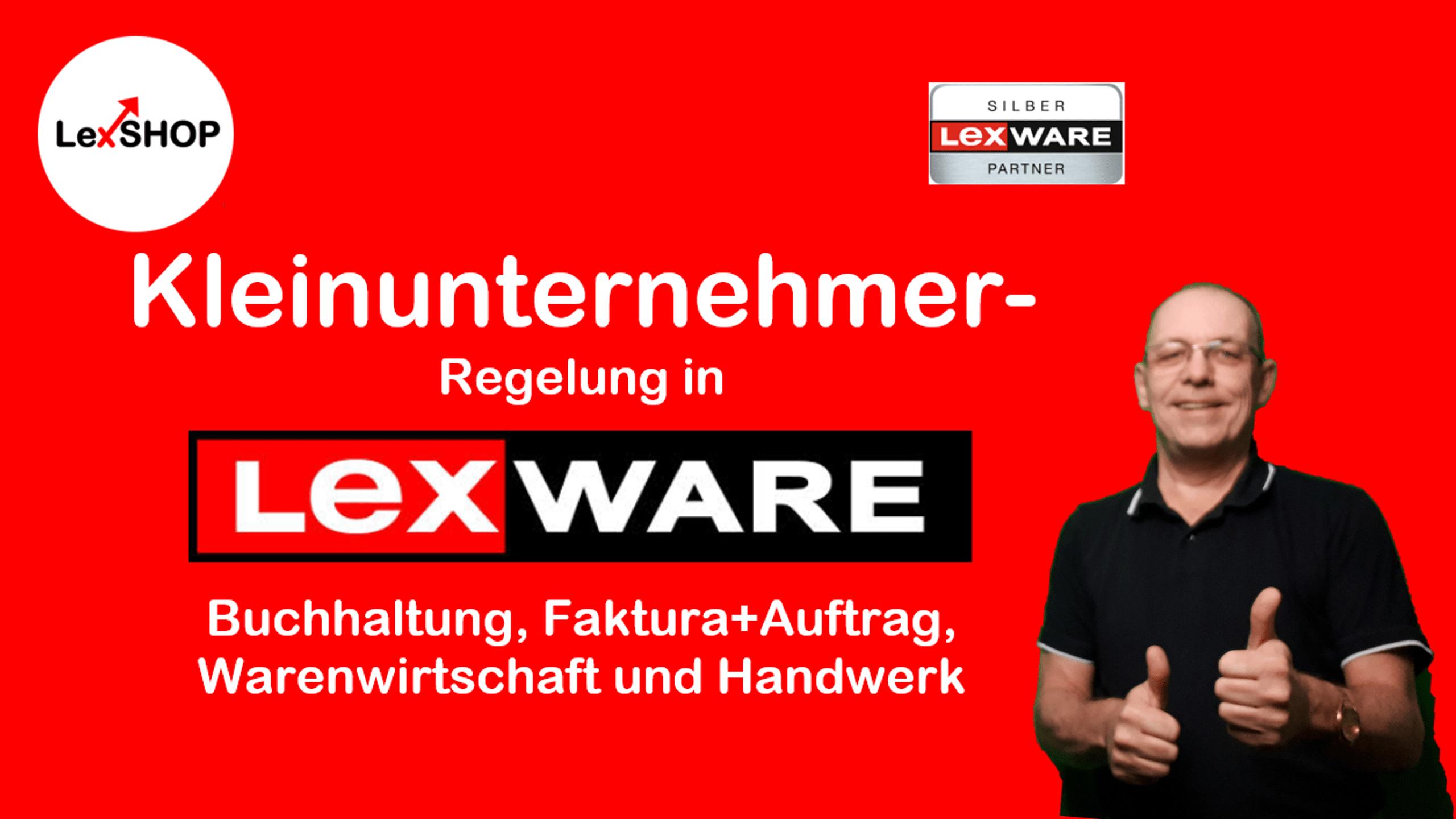 Kleinunternehmerregelung: Was ist das und wie setzt man das in Lexware buchhaltung, faktura+auftrag, warenwirtschaft oder Handwerk um?