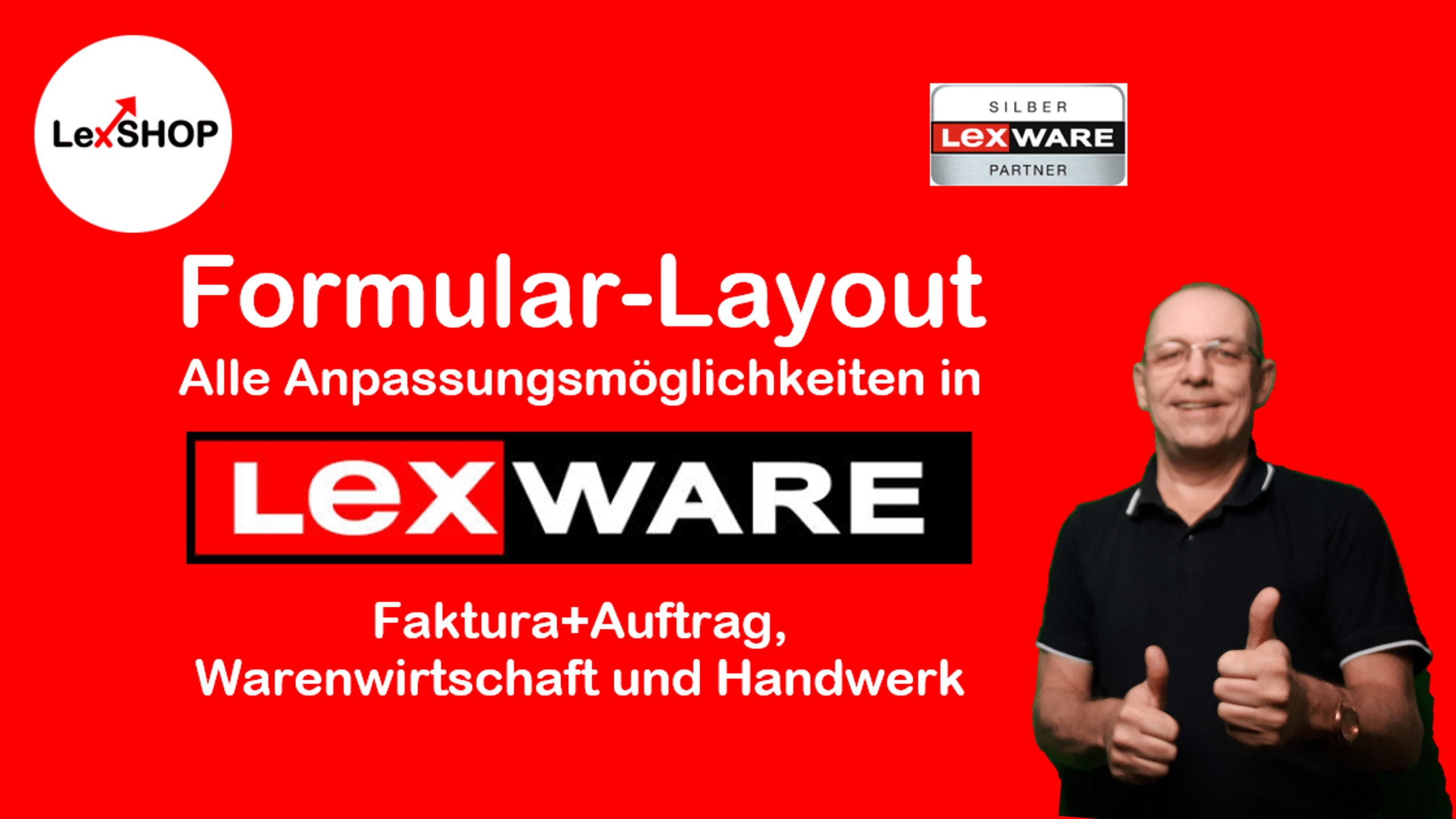Lexware Formular-Verwaltung: Alle Einstell-Möglichkeiten in faktura, warenwirtschaft und Handwerk