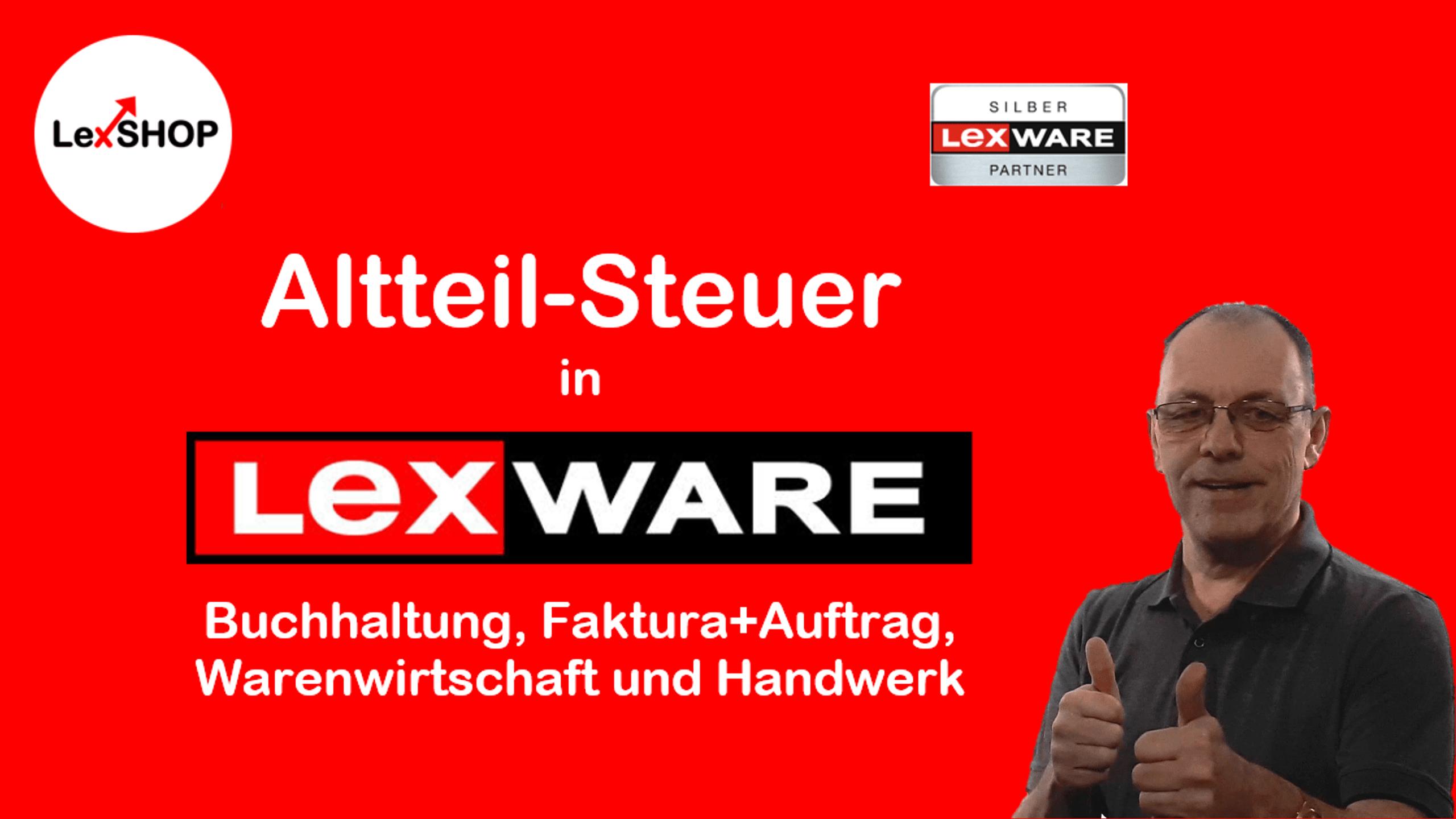 Wie kann man die Altteil-Steuer in Lexware Faktura+Auftrag, Warenwirtschaft und Handwerk einrichten