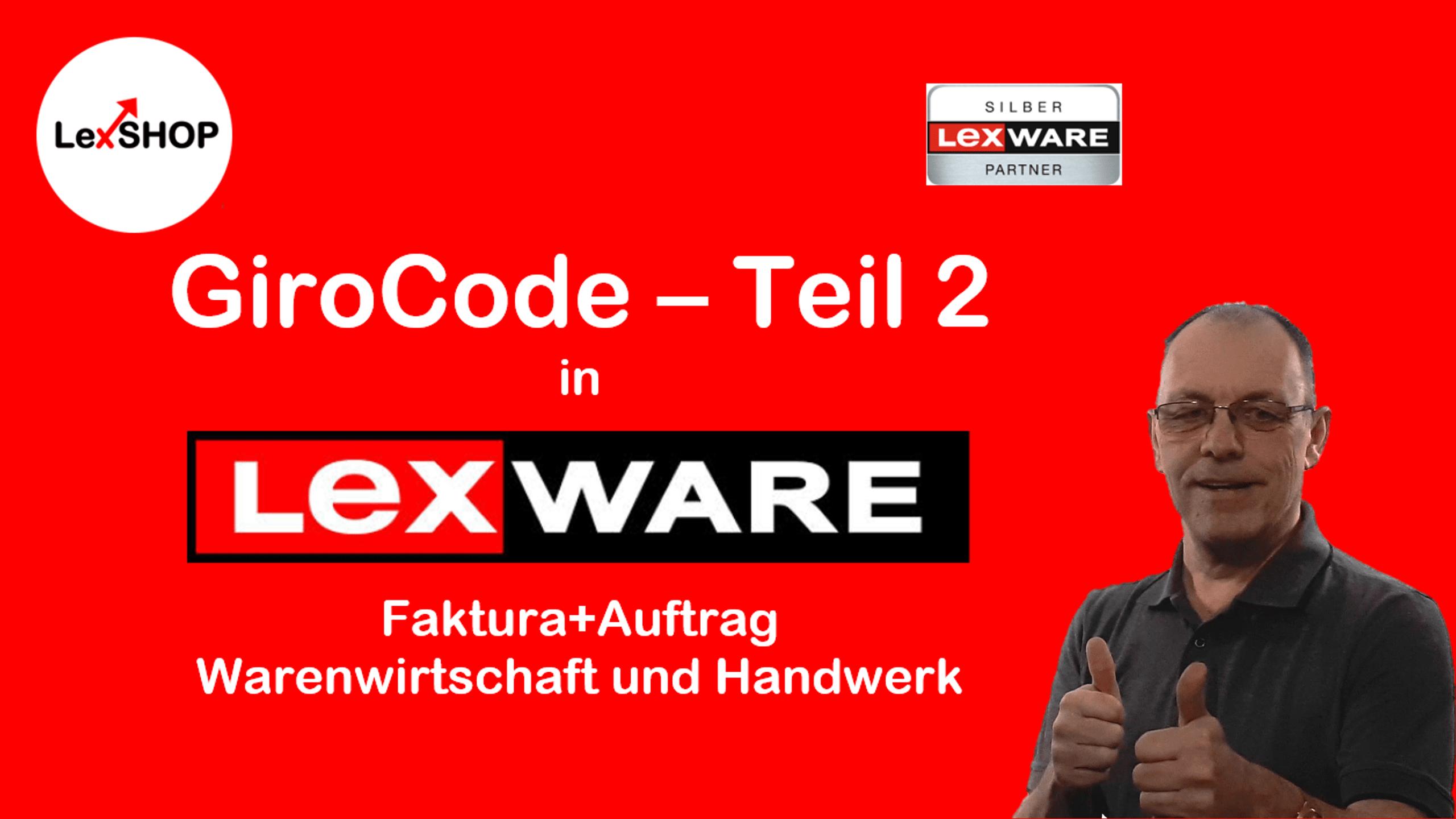 Die richtige Bankverbindung im GiroCode auf Lexware Faktura+Auftrag, Warenwirtschaft oder Handwerk
