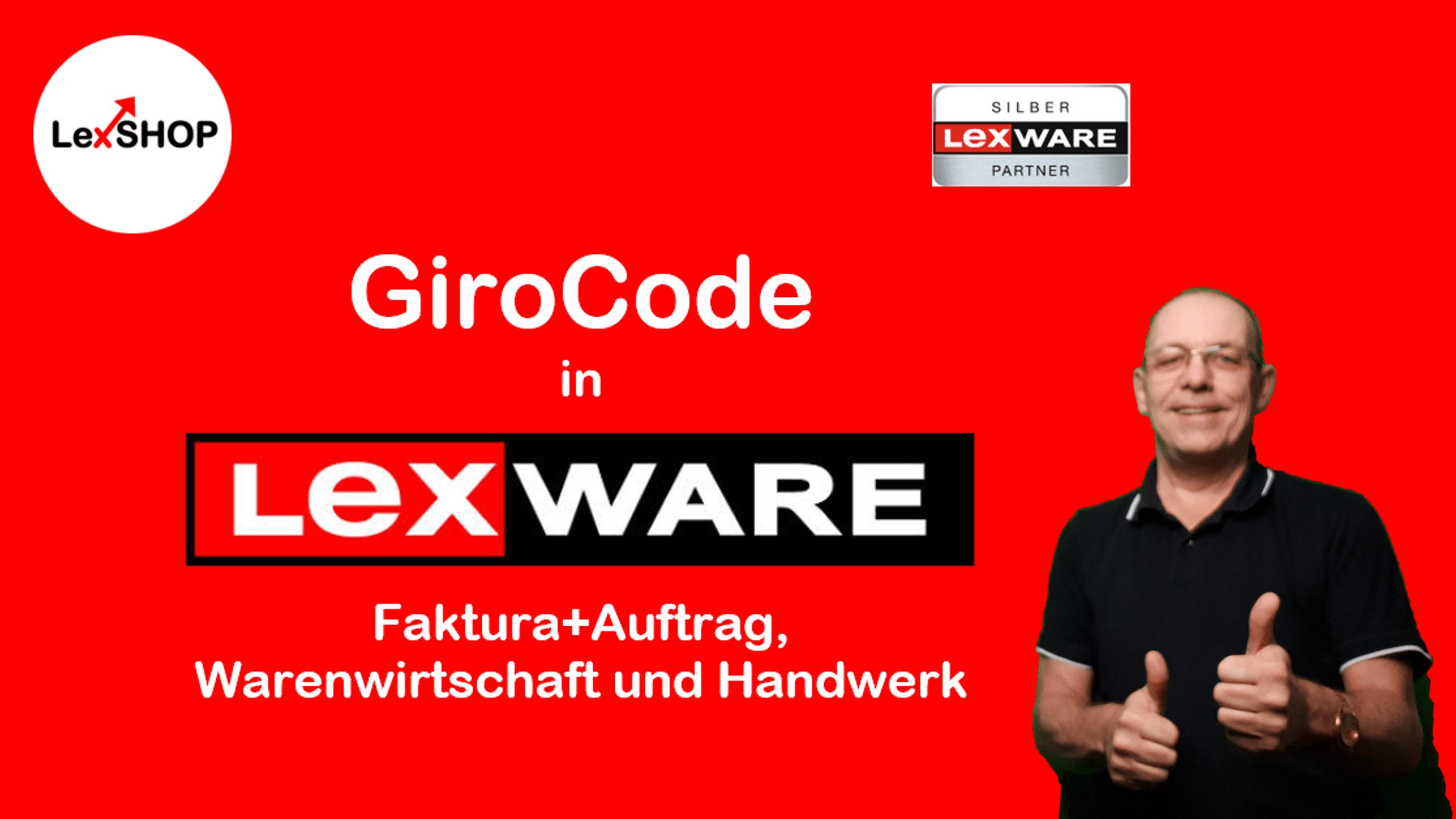 Was muss ich beachten, damit der GiroCode in Lexware Faktura+Auftrag, Warenwirtschaft und Handwerk korrekt angezeigt wird