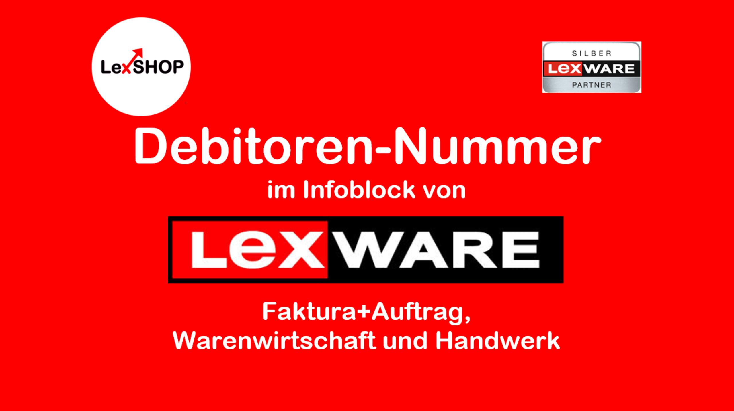 Debitorennummer im Infoblock